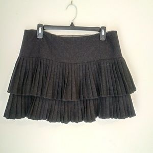 Nanette Lepore pleated mini skirt size 8